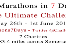 #7x7x7 The 7 Marathons in 7 Days Challenge