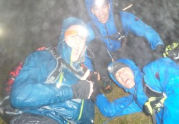 One Stormy Night on Snowdon